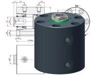 Heiss HKZ 500, Hydraulic Short Stroke Cylinder