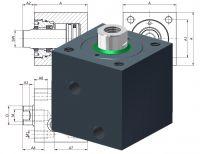 Hydraulic Cube Cylinder Heiss HWZ 400