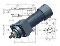 Heiss Hydraulic Cylinder SNZ DIN24554, Standard Norm Cylinder DIN 24554