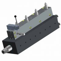 Linear-Mengenteiler, Linearhub, Kolben-Mengenteiler, Stromteiler, Dosierzylinder, Gleichgang