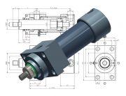 Hydraulikzylinder Heiss SNZ DIN24554, Standard Normzylinder DIN 24554